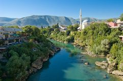 Bosnisch landschap Stock Afbeeldingen