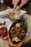 Bosnisch voedsel Stock Afbeeldingen