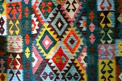 Bosnische Tapijt, patronen en kleuren Royalty-vrije Stock Foto's