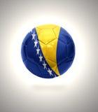 Bosnischer Fußball stock abbildung