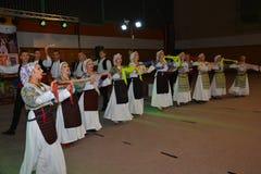 Bosnischer Volkstanz stockfotos