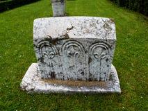 Bosnisk autentisk gravsten Royaltyfri Bild