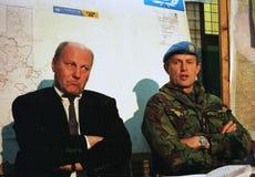 BOSNISK INBÖRDESKRIG royaltyfri bild