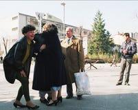 BOSNISK INBÖRDESKRIG Arkivfoton