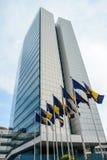 Bosnisk parlament i Sarajevo royaltyfri foto
