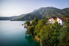 Bosnisk sjö Arkivfoto