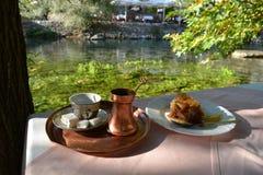 bosniskt kaffe Royaltyfria Bilder