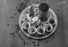 bosniskt kaffe Arkivbild