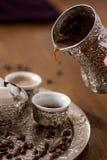 bosniskt kaffe Arkivfoto
