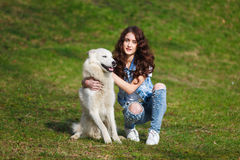 https://thumbs.dreamstime.com/t/bosom-friends-teenage-girl-hugging-two-husky-dogs-park-90428284