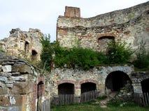 Bosovice城堡 库存照片