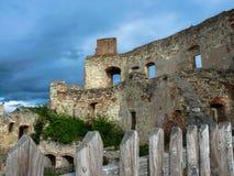 Bosovice城堡 免版税库存照片