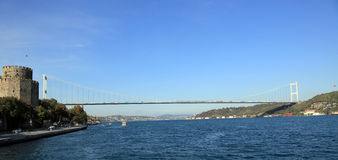 Bosphorous海峡 免版税库存照片