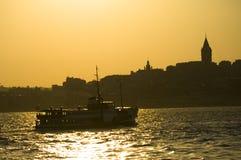 bosphorus伊斯坦布尔火鸡 免版税库存图片