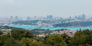 bosphorus伊斯坦布尔 免版税图库摄影