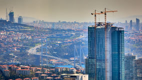 bosphorus桥梁伊斯坦布尔火鸡 库存图片