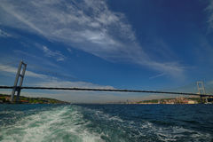 bosphorus桥梁伊斯坦布尔 免版税库存图片