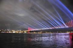 Bosphorus桥梁 库存图片