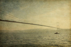 Bosphorus桥梁 图库摄影