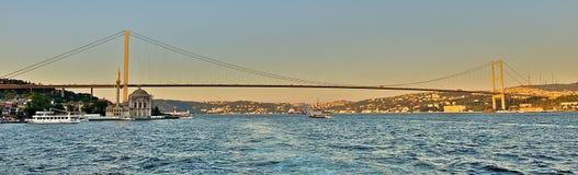 Bosphorus桥梁 免版税库存图片