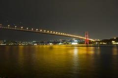 bosphorus桥梁 免版税图库摄影