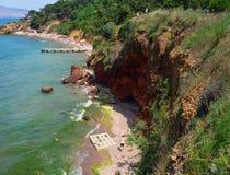 Bosphorus海峡的蓝色海 免版税库存照片