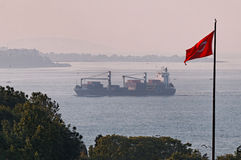 Bosphorus海峡  库存图片