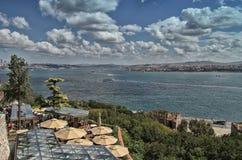Bosphorus海峡 图库摄影