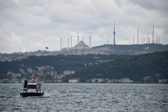 Bosphorus Ä°stanbul Royalty-vrije Stock Foto