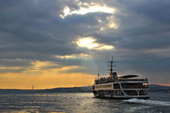 Bosphorus στη Ιστανμπούλ, Τουρκία Στοκ εικόνα με δικαίωμα ελεύθερης χρήσης