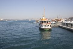 Bosphorus Royalty Free Stock Photography