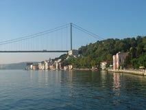 Bosphorus. Calm morning on the Bosporus, Istanbul Stock Photography