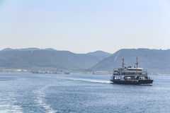 在Bosphorus 免版税图库摄影