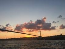 Bosphorus in Beylerbeyi stockfotos