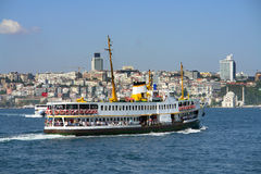Bosphorus and Boat Stock Photography