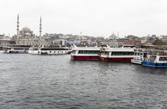 Bosphorus boat trip Stock Images