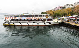 Bosphorus boat trip Royalty Free Stock Image
