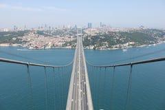 Bosphorus Brücke lizenzfreie stockbilder