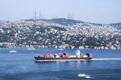 Bosphorus-Brücke in Istanbul Lizenzfreie Stockfotos