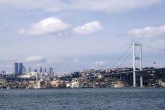 bosphorus bridżowy Istanbul meczet ortakoy obrazy royalty free