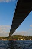 bosphorus bridżowy Istanbul tęsk Zdjęcia Royalty Free