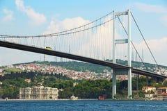 bosphorus bridżowy Istanbul Fotografia Royalty Free