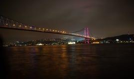 bosphorus bridżowy Istanbul Zdjęcie Stock