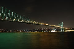 Bosphorus Bridge Royalty Free Stock Photography