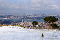 The Bosphorus Bridge Royalty Free Stock Photography