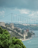 The Bosphorus Bridge Royalty Free Stock Photos