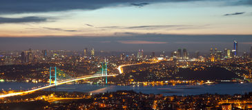 Bosphorus Bridge 3 Royalty Free Stock Photography