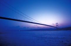 Bosphorus Bridge. Marmara sea in istanbul, Turkey royalty free stock images