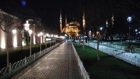 bosphorus bridge city istanbul lights night view Στοκ Εικόνες