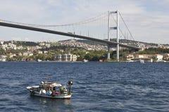 Bosphorus bridge Royalty Free Stock Images
